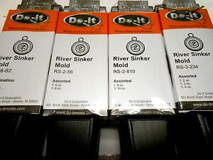 ROCK ISLAND DO-IT RIVER SINKER MOLDS I REFUND EXCESS SHIPPING FEES!!!