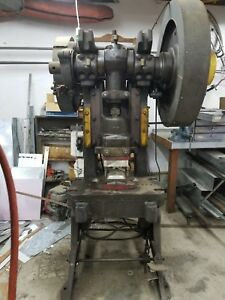 Federal Model 4 4 45 Ton Obi Back Geared Punch Press