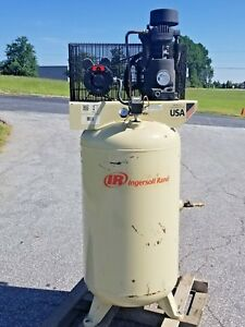 Used 5 hp Ingersoll Rand Piston Air Compressor