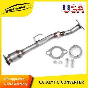 For Nissan Altima 2 5l Exhaust Flex Pipe Catalytic Converter 2002 06 Direct Fit
