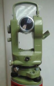 Theodolite Wild Heerbrugg T1a Serial 187870 Surveying Instrument