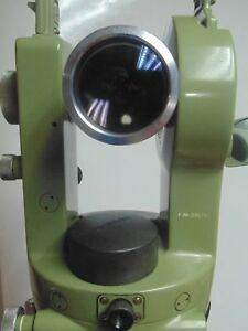 Theodolite Wild Heerbrugg T1a Serial 230745 Surveying Instrument