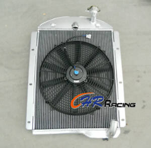 For 1941 1946 Chevy Pickup Truck L6 6cyl Factory Engine Aluminum Radiator Fan
