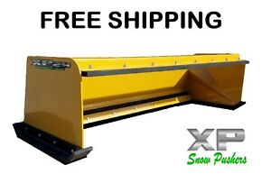 6 Xp24 Pullback Snow Pusher Free Shipping Skidsteer Bobcat Case Caterpillar