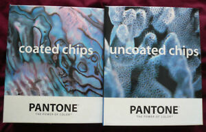 Pantone Color Books coated And Uncoated Chips 1995