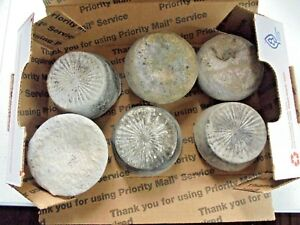 Aluminum Ingots Discs 3 Pounds Recycled Metal For Casting Crafts Lot C