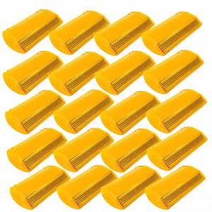 20 pack New Commercial Road Highway Pavement Marker Reflector One side Yellow