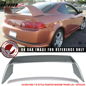 Fits 02 06 Acura Rsx Dc5 Type R Aspec Style Trunk Spoiler Painted nh623m 4 Pcs