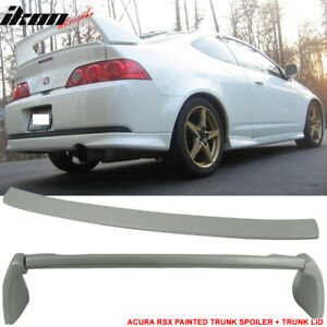 Fits 02 06 Acura Rsx Dc5 Type R Aspec Style Trunk Spoiler Painted nh624p 4pcs