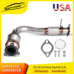 For 2010 2011 2012 2013 2014 Chevrolet Equinox Epa Catalytic Converter 2 4l Pzev
