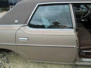 Front Bench Seat Cloth Power Fits 77 Grand Marquis 285769