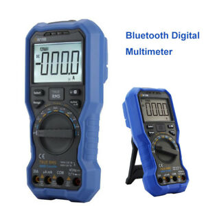 Blue tooth Digital Multimeter Data Logger Voltmeter Ncv True Rms Flashlight Fast