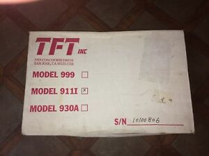 Tft Model 911i In The Box Unused Previously Owned