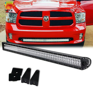 40 Hidden Lower Bumper Led Light Bar For 2010 2018 Dodge Ram 2500 3500 42