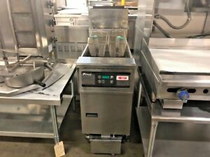 Pitco Fryer Sffssh55 Gas 50 Lbs With Filter System 13226