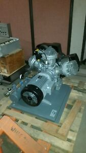 Atlas Webster 68455 Air Compressor Head Approx 20 Hp Motor 220 230v 400 460v