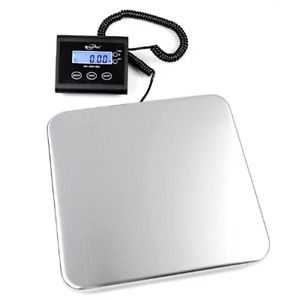 Digital Shipping Scale 330 Lb Stainless Steel Remote Display Tare Ups Usps Fedex