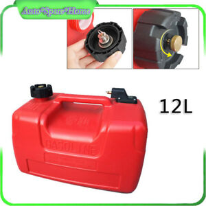 12l Portable Fuel Tank 3 2 Gallon For Yamaha Outboard Fuel Tank W connector Sale