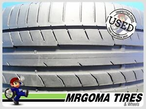1 Continental Contisportcontact 5 Mo Xl 225 40 18 Used Tire 76 Life 92y 2254018