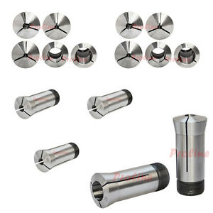 15 Pc 1 8 To 1 5c Round Collet Set By 16ths Harden Machinist Tool 0006 Tir
