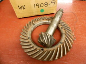 1934 35 36 37 38 39 Hudson Terraplane Ring And Pinion Gear Set Nors