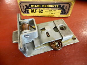 1941 1942 1946 1947 1948 Ford Coupe Trunk Deck Lid Lock Latch Assembly Nors