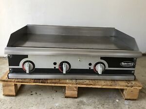 Gas Griddle 36 flat Top Superior