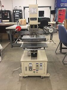 Hot Stamping And Embossing Hg Wt 19 Gilding Press