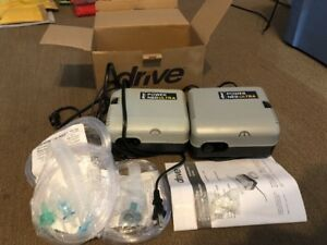 Drive Nebulizer Machines 2 compressor Systems W 3 Sealed Mouthpieces