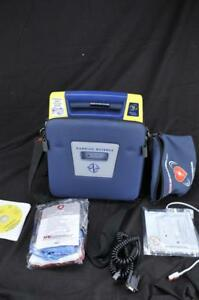 Cardiac Science G3 Aed W New Battery 2 New Adult Pads Responder Pack