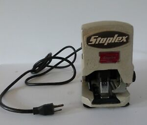 Staplex Sjm 1 Vintage Heavy Duty Electric Stapler Type D5
