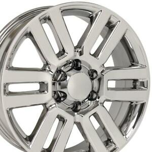 20 Rims Fit Toyota Lexus Hl Tacoma Tundra 4runner Chrome Wheels 69561