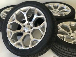 20 Chrysler 300 Oem Factory Rims Wheels Tires Polished Silver Rwd 2539 Set Of 4