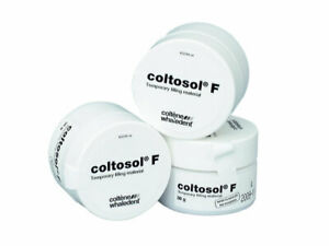 3 X Coltene Dental Coltosol F Temporary Filling Materal 38g With Long Expiry