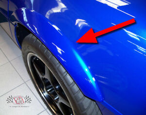1984 1996 C4 Grand Sport Corvette Rear Fender Flares Top Quality Free Shipping