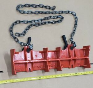 Jewel Large Model 2 Pipe Chain Aluminum Vise Welding Clamp Nice 2