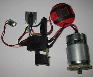 18 V Dc Electric Motor With Speed Control Led Fet 755 Frame 16000 Rpm