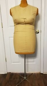 Vintage 1950s Sponge Foam Body Dress Form Mannequin Rare Plus Size