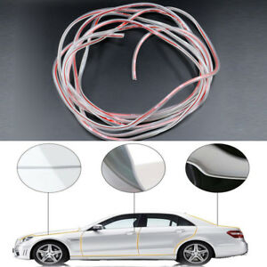 5m 16ft Clear Car Door Edge Protector Strip Scratch Guard Moulding Trim Cover