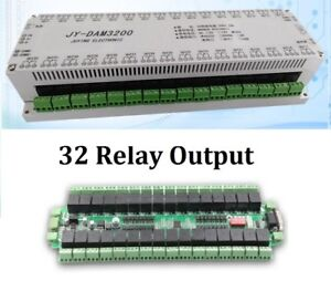 Customizable 32 Channels Relay Controller Isolated Board Rs232 Rs485 Wifi Ethern