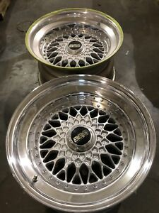 16 17 Bbs Rs Step Up Angle Lips Outer Halves 17x3 5 Unpolished