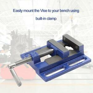 High Precision Clamp on Table Flat Bench Vise Milling Machine Bench Drill Vise
