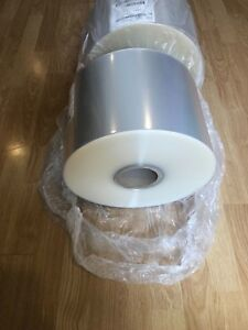 8 Heat Sealable Clear Bopp Film 1 2 Mil 26lb 6 500 Ft Roll