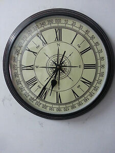 Rare Vintage Decorative Wooden Wall Clock Old Style Collectible Clock Antique