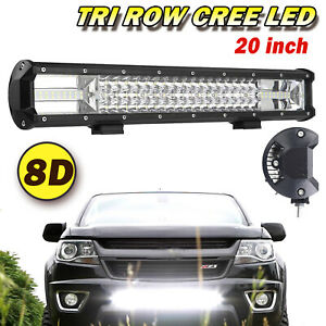 16inch 962w Led Light Bar Work Cree Driving Fog Truck Suv Jeep Ford Off Road 15