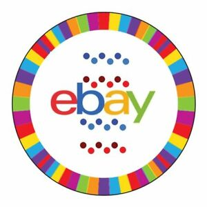 Lot Of 200 Custom Decorative Dots And Stripes Seals For Ebay Tissue