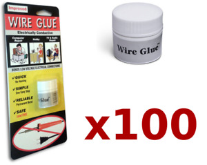 100x Highly Conductive Wire Glue paint For Ac dc trade Pack No Soldering Iron