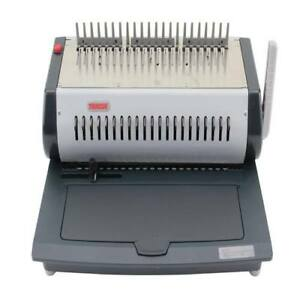 New Tamerica Tcc2100e Electric Plastic Comb Binding Machine Free Shipping