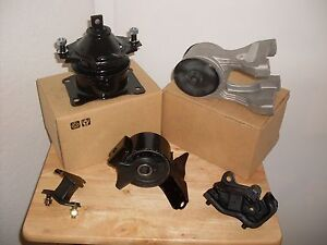 2005 2006 Set Of 3 Motor 2 Transmission Mounts For Honda Odyssey 3 5l Vtec