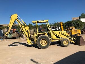 Ford 555 Backhoe Excavator